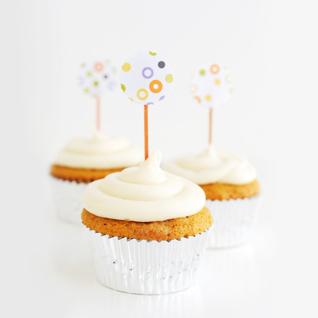 pumpkin cupcakes, jana laurene photography